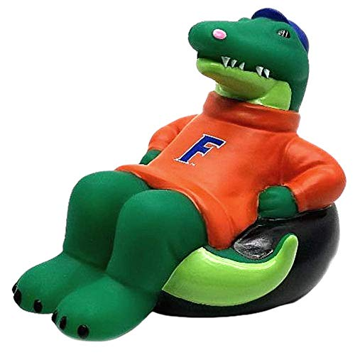 Rubber Tubbers University of Florida - Premium Bath Toy Collectible Sports Memorabilia - First Ever Collectible Line of Licensed Floating Collegiate Mascots (Florida Gators | Albert The Alligator)
