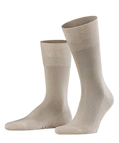 FALKE Herren Socken Tiago - 95{75a0c2abd62039628e45c97cfef8acb209e9eec8c038e242614d143ee5dc5efa} Baumwolle, 1 Paar, Beige (Nature 4000), Größe: 45-46