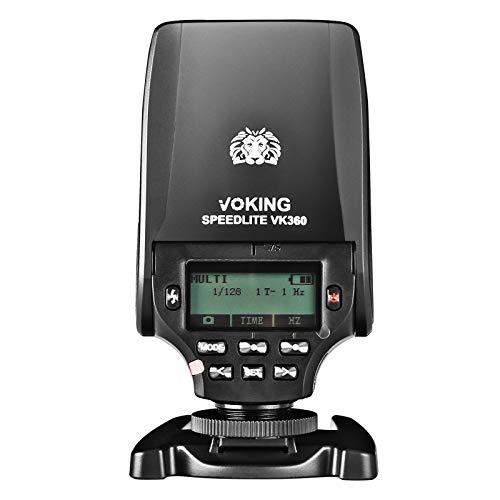 Voking VK360N TTL Master HSS Flash Speedlite Compatible with Nikon FMount Digital SLR Cameras D1X D2 D2H D2X D3 D3X D200 D300 D300S D500 D700 D780 D800 Z7etc