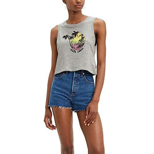 Levi's Camiseta sin mangas para mujer - - Medium