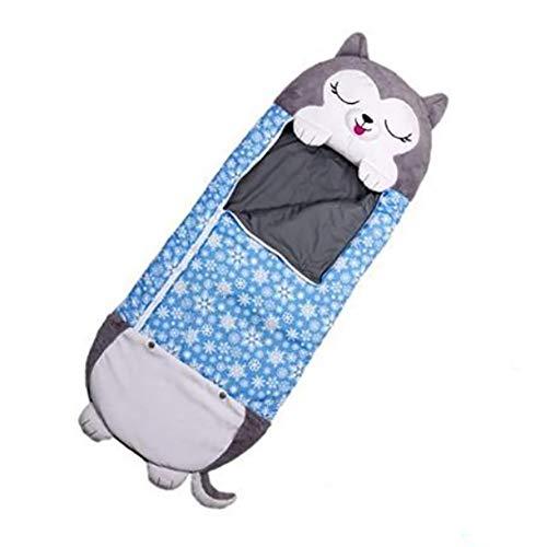 KariNao Happy Play Nappers Baby-Schlafsack mitwachsend /& atmungsaktiv Kinderschlafsack waschbar Leichter Schlafsack 2 in 1 Nickerchenkissen und Schlafsack f/ür Kinder /überraschen