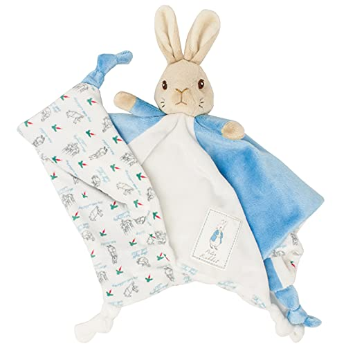 Official Peter Rabbit Comfort Blanket - Beatrix Potter Soft Toy for Babies and Toddlers