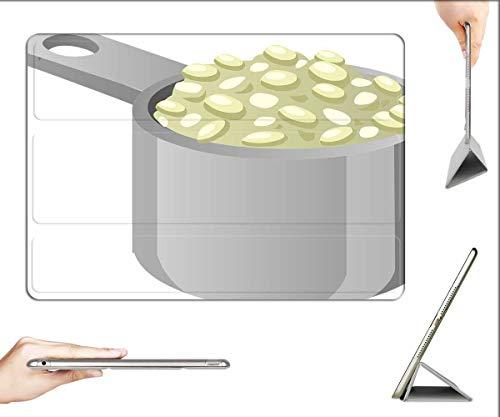 Case for iPad Mini 5 & Mini 4 - Foods Cooking Pans Meals Saucepan Steel Cookware