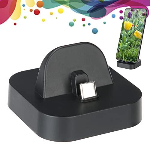 ciciglow Adaptador de TV para Switch/Lite, USB-C a HDMI Mini Dock Conmutador de Pantalla con un Solo botón Resistente y Duradero para Que el Soporte del conmutador se extienda para Cambiar a la