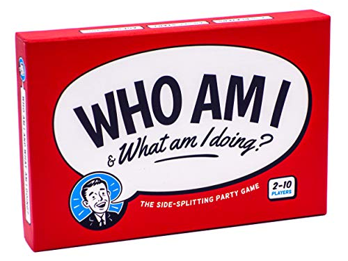 Who Am I & What Am I Doing? - Funny Party Game for 2-10 Players; Adults,...