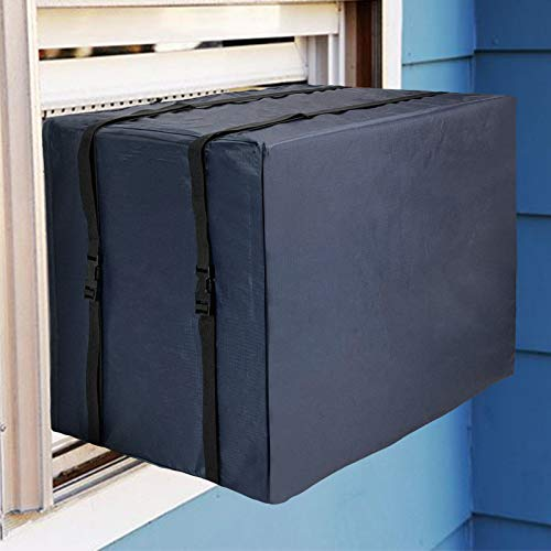 Qualward Window Air Conditioner Cover for Outside Unit, AC Covers for Outdoor Window Medium Size - 25.5' W x 20.5' D x...
