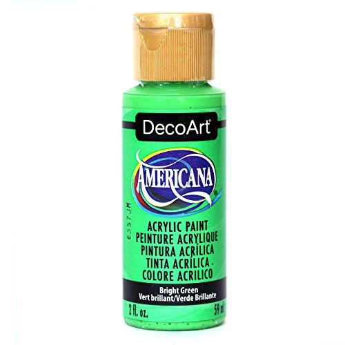 DecoArt Americana Acrylic Paint, 2-Ounce, Bright Green