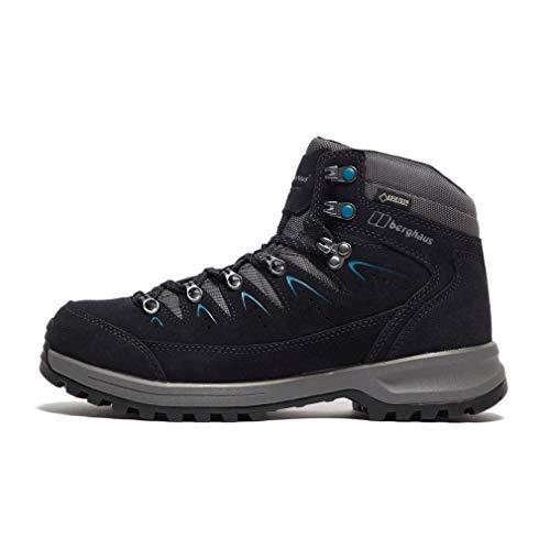 Berghaus Explorer Trek Gore-tex Tech Boot, Chaussures de Randonnée Hautes Femme, Gris (Carbon/Grey X63), 42 EU