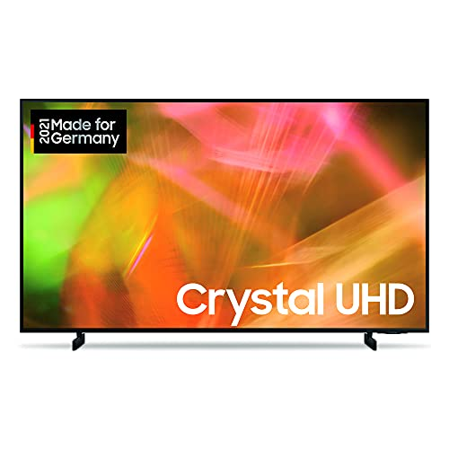 Samsung Crystal UHD 4K TV 43 Zoll (GU43AU8079UXZG), HDR, AirSlim, Dynamic Crystal Color [2021]