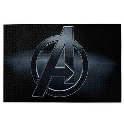 The Avengers - Puzzle de 1000 piezas para adultos y niños, juego intelectual, juego educativo para adultos y niños, alivio del estrés, decoración del hogar, rompecabezas de 70 x 50 cm