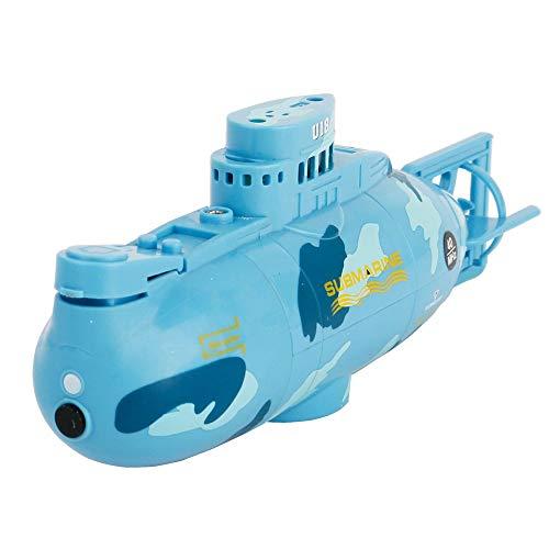 DBXMFZW Mini Control Remoto Submarino USB Carga RC Boat One-Key Travel RC Boat Control Remoto Vieja Juguetes eléctricos con Lagos y estanques niños y niñas (más de 3 años)