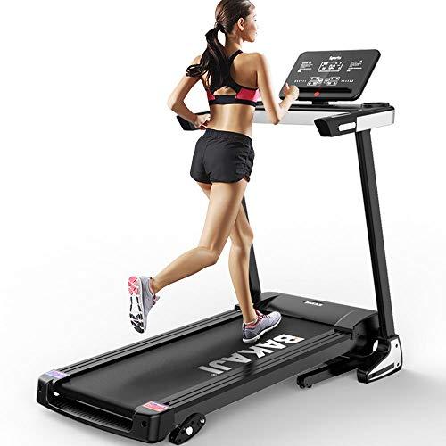 BAKAJI Tapis Roulant Elettrico Pieghevole Allenamento Cardio Fitness Palestra velocità Massima 12 km/h Inclinazione Manuale con Casse Bluetooth MP3 Supporto Smartphone Tablet