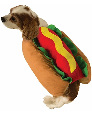 Cute Hot Dog Dog Costume
