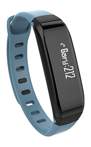 WEGO Relay Wireless Activity Sleep Tracker Powered By Map My Fitness App With Called ID/text Notification