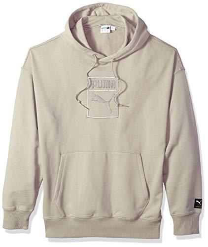 PUMA Men's Downtown Oversize Hoody Hooded Sweatshirt
