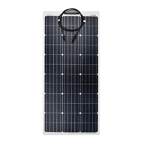 enjoysolar ETFE Semiflexibles Solarmodul PERC Zellen Solarpanel Marine Wohnmobil Yacht Boot (100W)