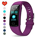 PUBU Fitness Tracker HR, Activity Tracker Watch with Heart Rate Monitor, Waterproof Smart Fitness...