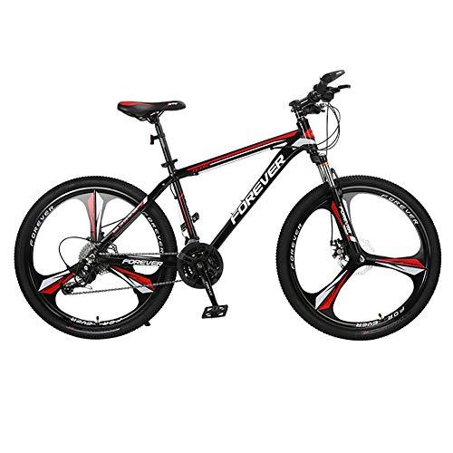 ZXASDC Bicicleta de Montaña, Carreras Off-Road Que Absorben los Golpes Varias Especificaciones para Elegir Cuadro de Aleación de Aluminio Adecuado para Carreras de Bicicletas