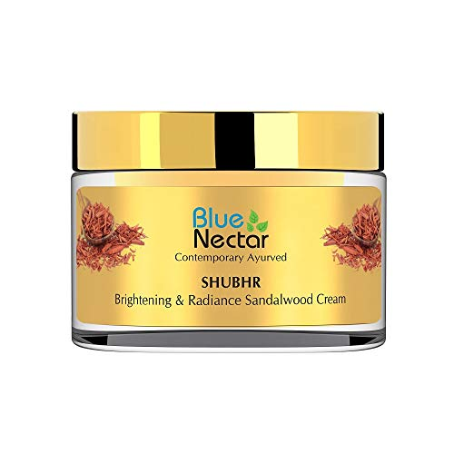 Blue Nectar Ayurvedic Brightening Cream and Lightening Cream - Sandalwood (Women, 50 g)