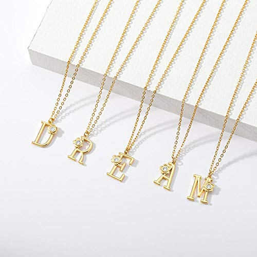 Fnho Crystal Rhinestone Saturn,Pearl Necklaces White Planet Crystal,Collar con Letras de Acero Inoxidable, Colgante de Lujo Ligero-S