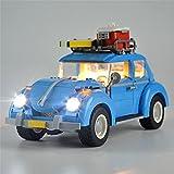 HLEZ Kit De Iluminación Led para Lego Volkswagen Beetle Compatible con Ladrillos De Construcción Lego Modelo 10252 Juego De Legos No Incluido