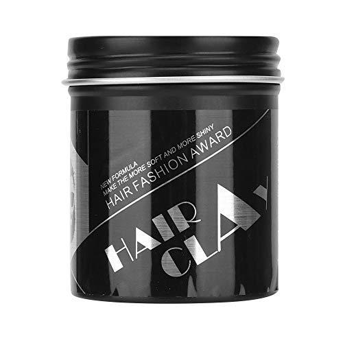 Barro de pelo, Cera para el cabello Crema hidratante de larga duración El labrar del pelo Crema de barro esponjoso cabello Styling para hombres y mujeres(100 gramos)