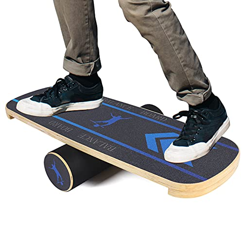 Core Balance Board, Surf Balance Board Trainer, Balance Exercise Board for Hockey, Surfing, and Snowboarding