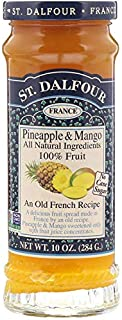 St Dalfour(サン・ダルフォー) Pineapple & Mango Fruit Spread パイナップルマンゴーフルーツスプレッド 284グラム [並行輸入品]