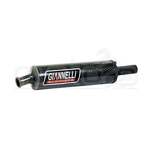 14018 Silenziatore universale carbonio cilindrico Giannelli