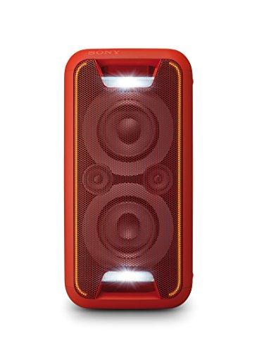 Sony GTK-XB5 Sistema Home Audio con Funzione Extra Bass, Bluetooth, NFC, Alimentazione AC, Rosso