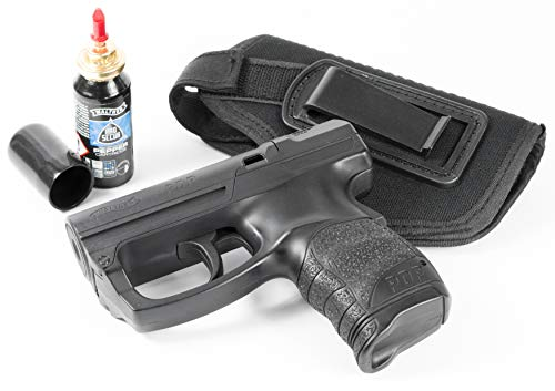 Security-Discount Germany - Personal Defense Pistole Walther PDP/PGS im Set mit Pfefferkartusche und HQ-Innenzugholster