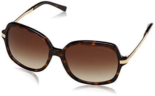 Michael Kors Damen Adrianna Ii 310613 57 Sonnenbrille, Gold (Dk Tortoise/Gold/Brown Gradient)