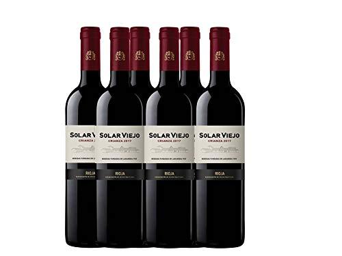 Bodegas Solar Viejo Rotwein Crianza D.O. Rioja Flasche - 750 ml -...