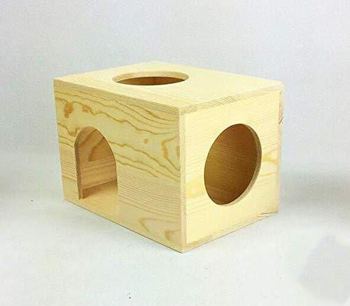 Infinitely Great Home Decor Center 1 maison en bois pour chinchilla.