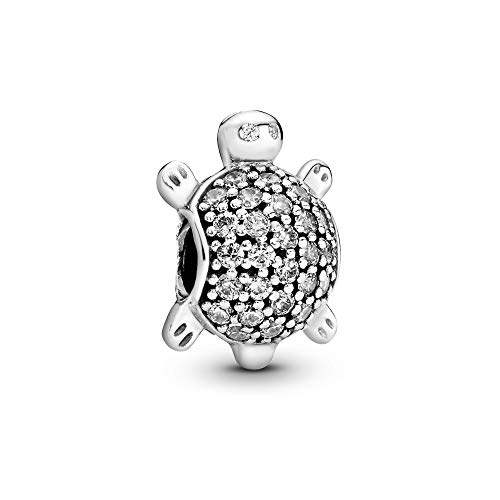 Pandora Damen-Bead Meeres-Schildkröte 925 Zirkonia Silber - 791538CZ