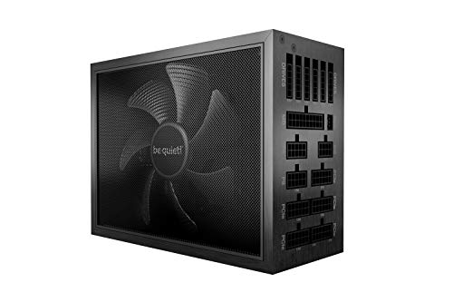 be quiet! Dark Power Pro 12 1500W, BN647, 80 Plus Titanium Efficiency, Power Supply, ATX, Fully Digital, Modular, virtually inaudible Silent Wings Fan
