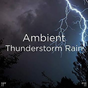 "!!"" Ambient Thunderstorm Rain ""!!"