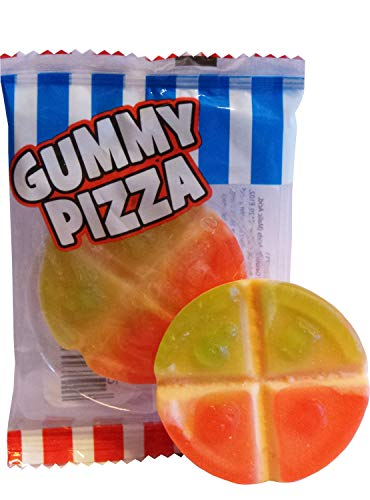 Crazy Candy Factory Mini Gummy Pizza Sweets (20 meegeleverd)