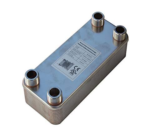 Edelstahl Plattenwärmetauscher B3-32-20 mit 1