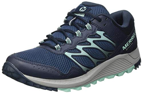 Merrell Women s Wildwood GTX Walking Shoe, Navy, 5 UK
