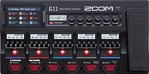 ZOOM ズーム ギター用マルチエフェクツ・プロセッサ フラッグシップモデル G11