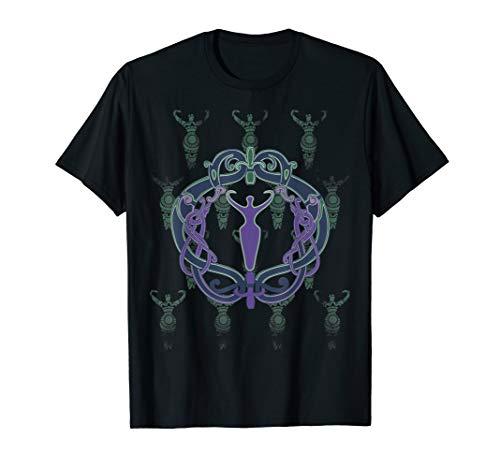 Celtic Goddess Feminist Wiccan Pagan Womens T-shirt Gift