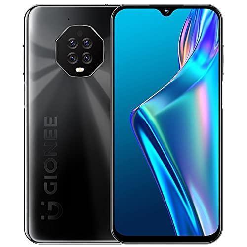 YaGFeng Smartphone M3 Pantalla Recta de Pincel Alto Insignia 48 Millones de Cámara Triple de Alta Definición 18W Carga Rápida Juegos Juegos Teléfono Móvil Inteligente 5G,Black-8+256