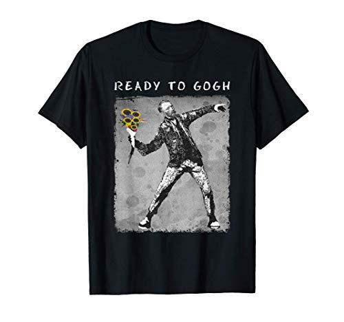 Divertida Camiseta de Van Gogh - Meme Aesthetic Camiseta