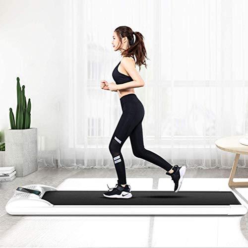 Laufband Elektrisches Klappbar Fitnessgerät Heimtrainer Verstaubar Kompakt, Flaches Laufband, Kann 100 Kg Tragen