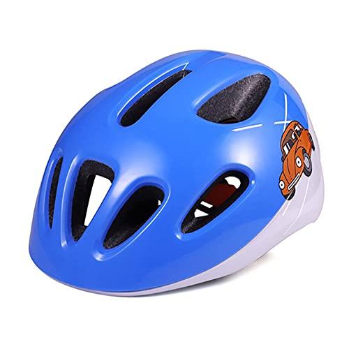 laoonl Casco de seguridad para niños, niños y niños, colorido ciclo de ciclismo para bicicleta, scooter, monopatín, patinaje, truco