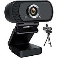 Lasllaves USB 1080P Plug & Play Webcam