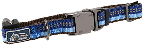 Coastal Pet Products DCP36422SAP K9 Explorer 5/8-Inch Dog Collar, Extra Small, Blue