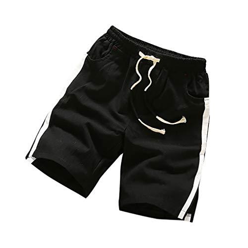 Tomatoa Herren Jogginghose Kurze Hose Sport Shorts Freizeithose Männer Freizeithose Sommer Hose Regular Fit Trainingshose Sweatshorts M - 5XL