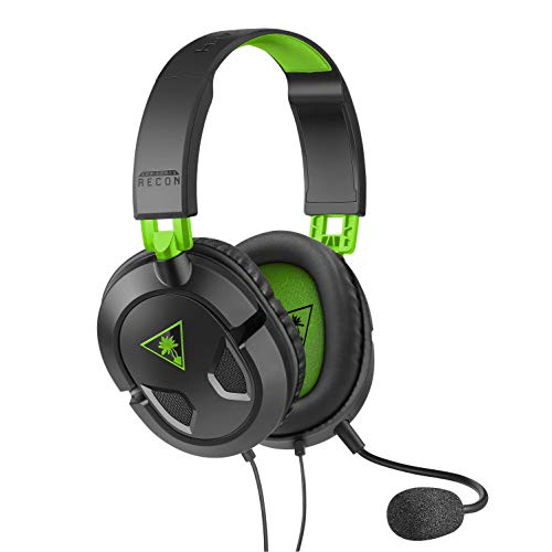 Turtle Beach Ear Force Recon 50X Binaural Bandeau Noir, Vert - Casques audio (PC/Jeux, Binaural, Bandeau, Noir, Vert, Xbox One, Playstation 4, PC, Mac, Avec fil)